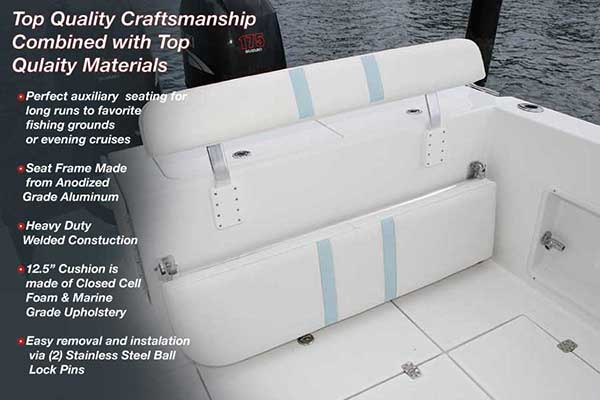 Marine Seats Back Rest For Boats Birdsall Marine Design